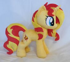 Sunset shimmer plush new pattern *Comissions open* by Epicrainbowcrafts