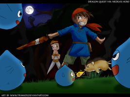Dragon Quest VIII: Medeas hero by Trakker