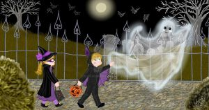 Trick Or Treat With Me by E-Ocasio