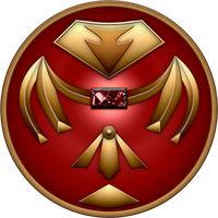 Red Mystic Shield by BLUEamnesiac