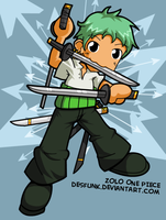 Zoro Zolo nobody knows by desfunk