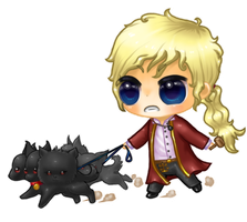 Zakariah Chibi Commission by Kattling