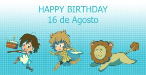 Aioria and Ade Birthday by Ade-AndaRio