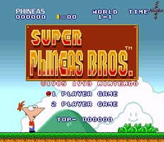 .:Super Phineas Bros:. by nicko5649