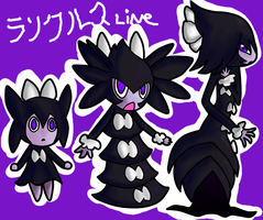 Evolution line of Gochi: FAKES by LaMystery