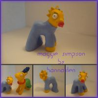 My Little Maggie Simpson by hannaliten