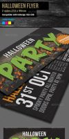 InDesign Halloween Event and Party Flyer by Sleight0fhand