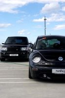 VW Beetle, Range Rover Sport by ShadoWpictureS