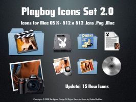 Playboy Icons Set Version 2.0 by igabapple