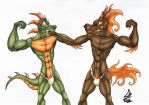 Gift - Fundoshi Time by DragonBellum92-DP