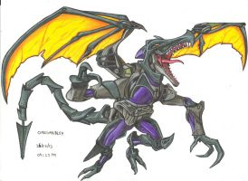 Omega Ridley by stefano-roca