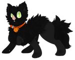Black Cat Bavette :OTA CLOSED: by InkQueenPilus