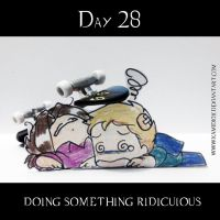 30 day OTP Challenge Feat. Winchesters: Day 28 by KamiDiox