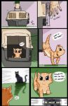 Kitty Page 1 by CyberPhantom