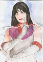 Sailor Mars by HeartlessHollow07