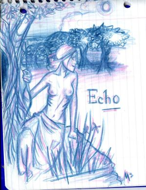 Echo....topless