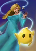 Rosalina and Luma by phamoz