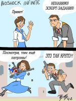 Bioshock Infinite Review RUS by lezisell