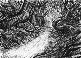 The Ink Forest by AndreIllustrates