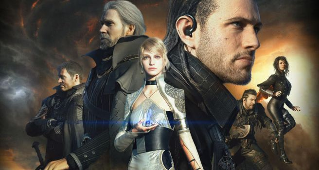 Kingsglaive - Final Fantasy XV Twitch Banner by Helryu
