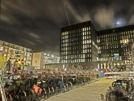 HDR - Bike place by MaxArceus