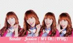 [PNG PACK ] Jessica#1 render - Girls Generation by JulieMin
