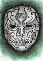 death eater mask by theChocolateFrog