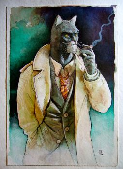 Blacksad by henanff