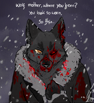 Wolf Mother, where you been...? by Chiibe