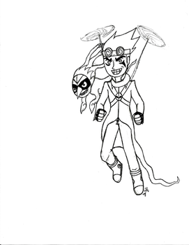 Jack Spicer and Ghost Wuya by RSforsevers