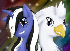 Fanart for Silver Quill - Smiles Go For Miles by MidnightTheUmbreon