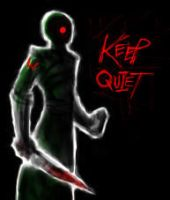Keep Quiet speedpaint by surrealdeamer
