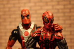 Deadpool and the Superior Spider-Man by GhostLord89