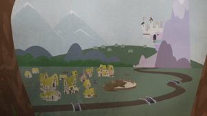 The Last Caravan - Ponyville by Zvn