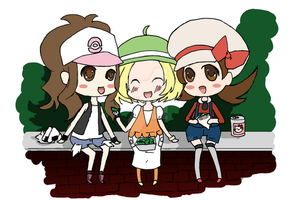 Doodle: Lunch with the girls by Yepa-chan