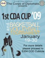 CDA Cup Poster by flamable77