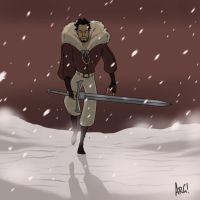 Warm up - Swordsman by IAMARG