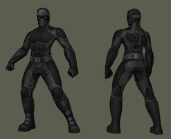 Stealthsuit commission by Zerahoc