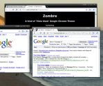 Google Chrome- ZOMBRE dark by Manhog