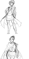 Character Sketches 2 by BuddhatheBob