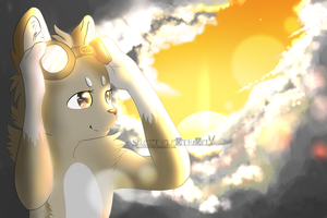 .: 2 bright 4 u :. (Art Trade) by SweetElectricity