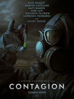 CONTAGION movie poster by Karezoid