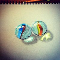 Glass Marbles by smackanicart