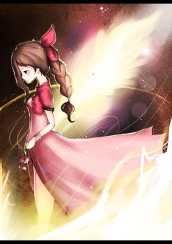 Aerith :Into the Lifestream by DarienDoodles