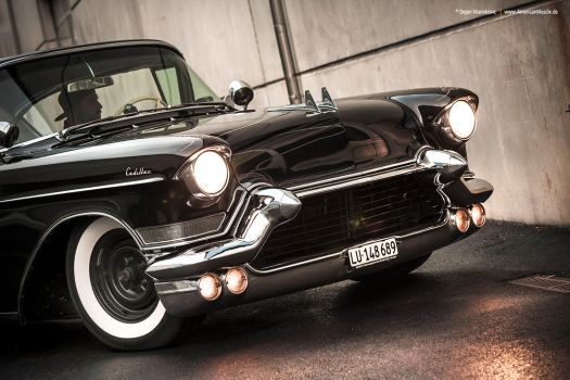 lowered 1957 Cadillac Series 62 - Shot 2 by AmericanMuscle