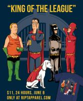 King of the League by ninjaink