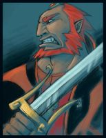 Ganondorf: Growl by Crispy-Gypsy