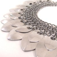 Neck Armour by blackbirdmaille