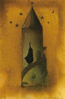 Tower of Pisces by Ebineyland