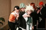 Katsucon14: Yoruichi, Urahara, and Toshiro by Cosplay-Pics-Account